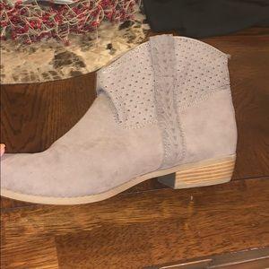 Small heel booties